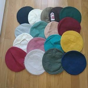 Angora/Wool hats